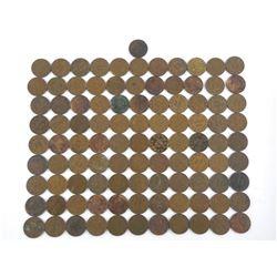 Bag - Estate George V One Cent - 100 Coins