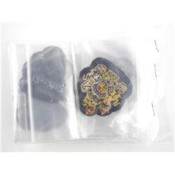 Queen's Crown British Nato Issue Warrant Officer's Bullion Wire Dress Sleeve Badges (10).
