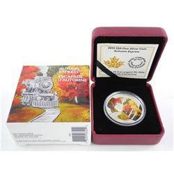 .9999 Fine Silver $20.00 Coin 'Autumn Express'