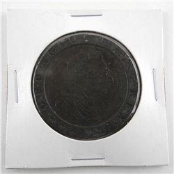 Estate Great Britain 2 Pence KM#619 (1797) VF++ Scarce Grade CAT MIN 300.00 US