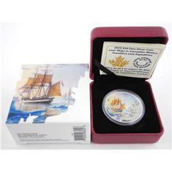 .2015 9999 Fine Silver $20.00 Coin 'Franklin's Lost Expedition' LE/C.O.A.