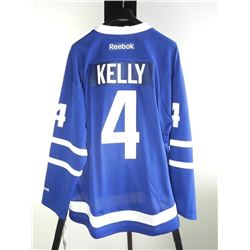 RED KELLY TML JERSEY SIGNED