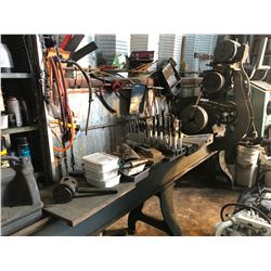"AMERICAN TOOL WORKS CO. LATHE APPROX. 6' X 12"" COMES WITH 3 JAW CHUCK AND ASSORTED TOOLING"
