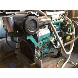 VOLVO PENTA TAMD 74C-B  INBOARD MARINE ENGINE, CONDITION UNKNOWN