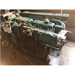 VOLVO PENTA TAMD 71B  HIGH PERFORMANCE INBOARD MARINE ENGINE, CONDITION UNKNOWN