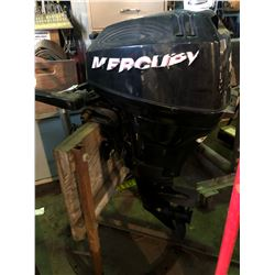 MERCURY 15HP 4 STROKE OUTBOARD ENGINE WITH STAND