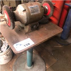 """8"""" BENCH GRINDER WITH STAND"""