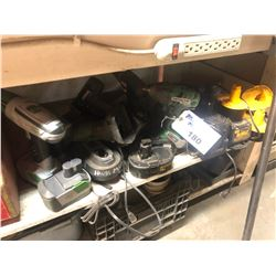 LOT OF ASSORTED CORDLESS TOOLS