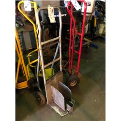SHOP BUILT OUTBOARD MOTOR HAND TRUCK