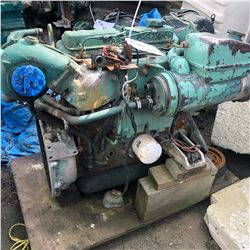 VOLVO INBOARD MARINE ENGINE FOR PARTS/REPAIR