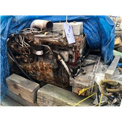 CUMMINS DIESEL INBOARD MARINE ENGINE FOR PARTS/REPAIR