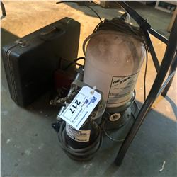 MARINE PARTS INCLUDING TEST METER, AIR BLEED TANK, PFU-35 PRE-FILTRATION UNIT AND MORE