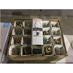 Case of SylvaniaLumalux Bulbs (20 ct)
