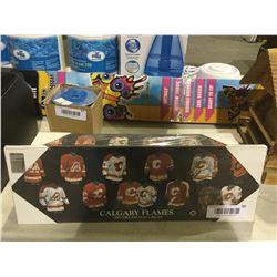 Calgary Flames Mini Plaques