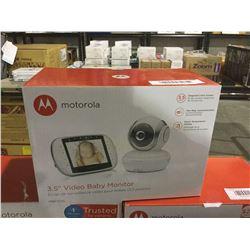 "Motorola 3.5"" Video Baby Monitor"