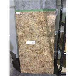 New brownArborite counter Top - 4ft