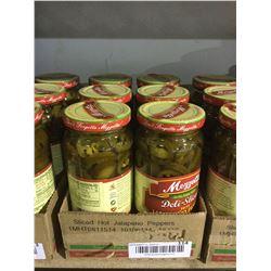 Mozzetta Deli-Sliced Hot Jalapeno Peppers (6 x473mL)