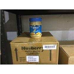 Case ofNutberry Peanut Butter (12 x 454g)