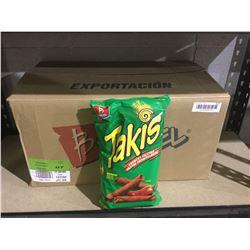 Case of Takis Crunchy Fajitas Chips (12 x 280g)