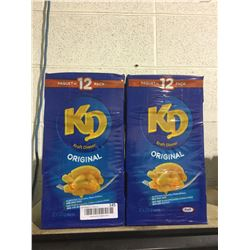 Kraft Dinner Original (12 x225g) Lot of 2