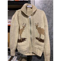 Cowichan Style wood Sweater medium