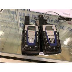 Set of Cobra microtalk 2 way radios - tested working