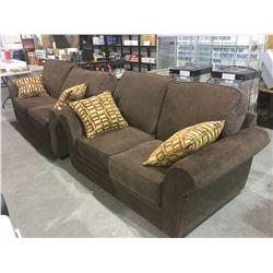 NEW Choco Love Seat, Sofa Set Lot of 2