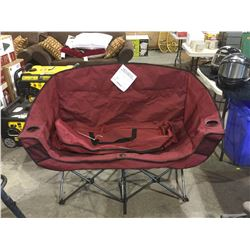 Chaise Double Folding Camp Chair