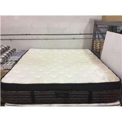 "King Size Mattress. 17"" thick euro top. Memory foam and multi coil. Medium firmness."