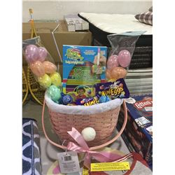 Easter Basket w/ Easter Goodies