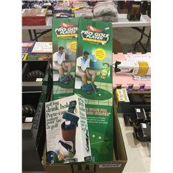 Box of Golf Accessories