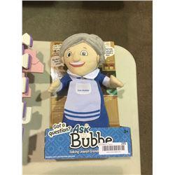 Ask Bubbe – Talking Grandma Doll