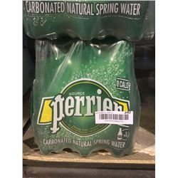 Perrier Carbonated Natural Spring Water (6 x 500mL)