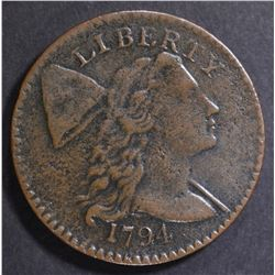 1794 LARGE CENT VF/XF