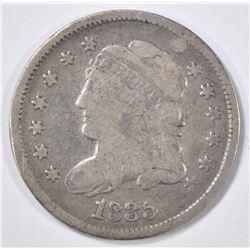 1835 BUST HALF DIME VG