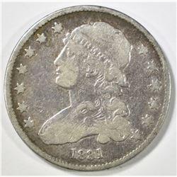 1831 BUST QUARTER, VF