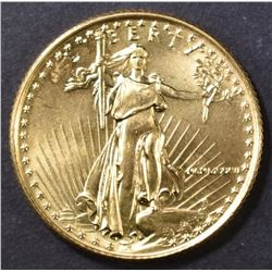 1986 BU 1/4 OUNCE GOLD EAGLE