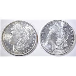 1882-O & 1904-O MORGAN DOLLARS  CH/GEM BU