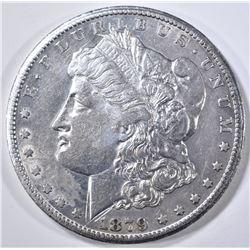 1879-CC MORGAN DOLLAR  XF+