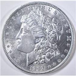 1892 MORGAN DOLLAR  CH BU