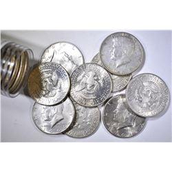 20-CIRC 1964 KENNEDY HALF DOLLARS