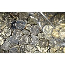 $85.00 FACE VALUE BU JEEFFERSON NICKELS 1959-69