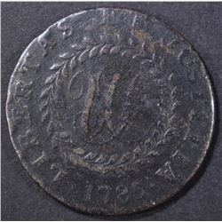 1785 NOVA CONSTELLATIO  W/ POINTED RAYS  VF