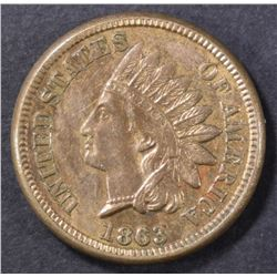 1863 INDIAN HEAD CENT  NICE UNC