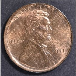 1911 LINCOLN CENT  GEM UNC