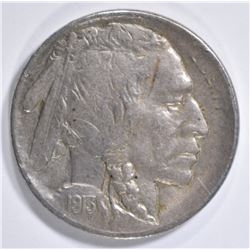 1913-S BUFFALO NICKEL TYPE 2  XF/AU