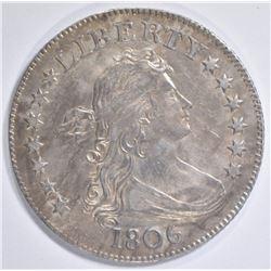 1806 BUST QUARTER  CH AU/UNC