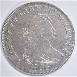 1806 BUST HALF DOLLAR  XF/AU