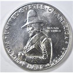 1920 PILGRIM COMMEM HALF DOLLAR   GEM BU