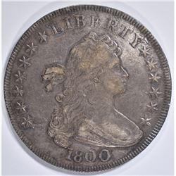 1800 DRAPED BUST DOLLAR  CH AU